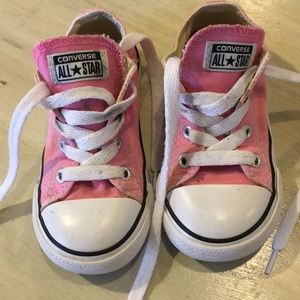 Converse - Pink - Size 8 Toddler - Great Condition